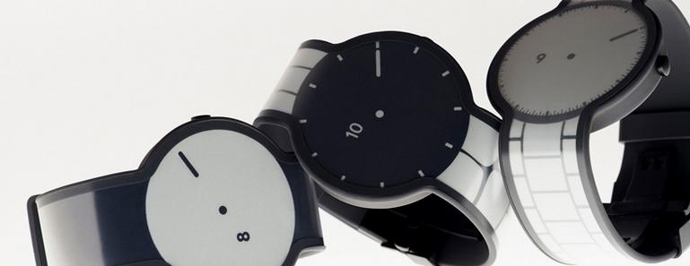 Conoce el reloj de tinta electrónica de Sony