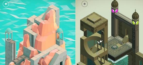 Monument Valley, el móvil recibe el puzzle de belleza geométrica