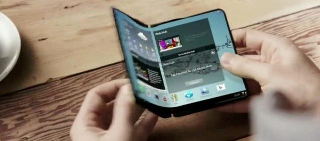 Samsung lanzará dispositivos inteligentes con pantalla flexible en el 2015