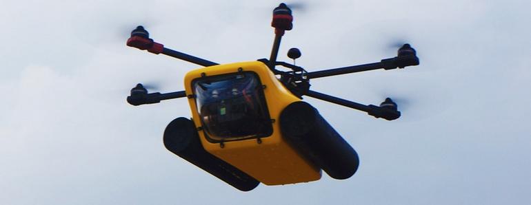HexH2o drone híbrido que domina cielo y agua