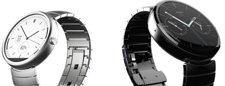 Moto 360 el smartwatch metálico