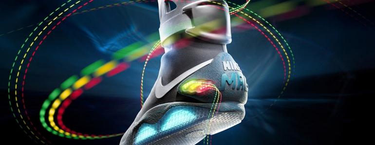 Nike lanza este año las zapatillas de Regreso al Futuro