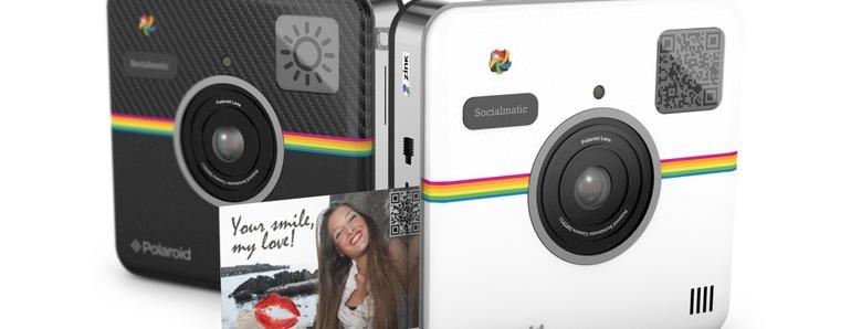 Polaroid Socialmatic cámara digital instantánea para las redes sociales
