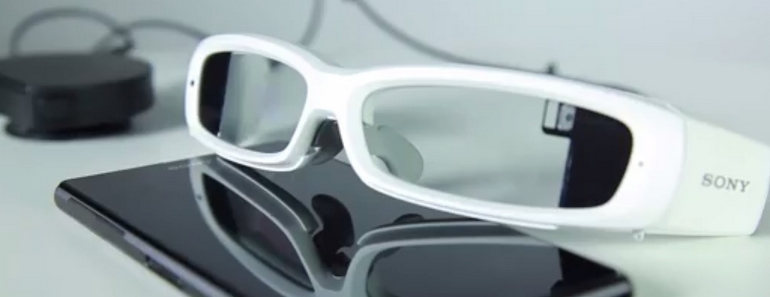 Sony SmartEyeglass la competencia de Google Glass