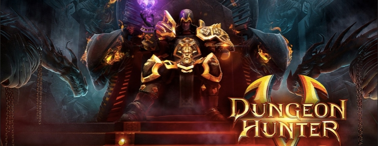 Dungeon Hunter 5 caza recompensas para Android