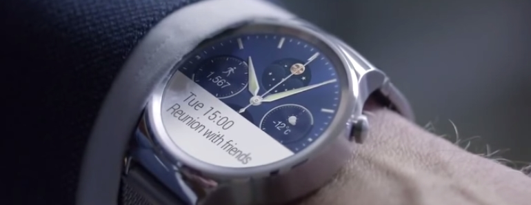 Huawei Watch diseño convencional para destacar en los wearables