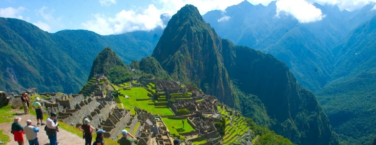 Machu Picchu desde Google Street View