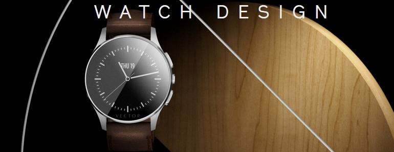 Vector Watch reloj inteligente con autonomía de 30 días
