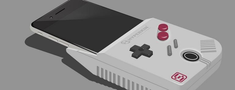 SmartBoy iphone game boy
