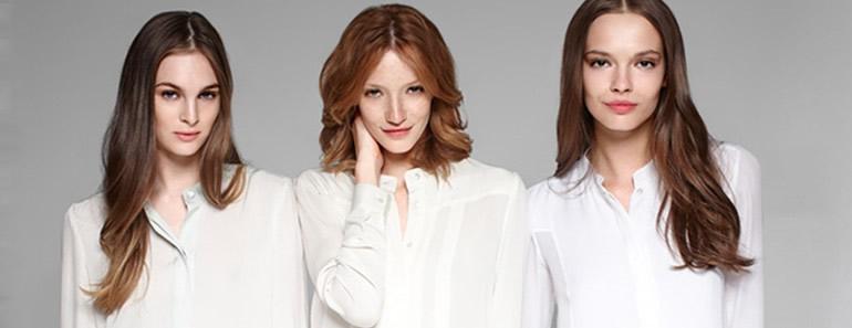 Crean blusas femeninas que no se manchan
