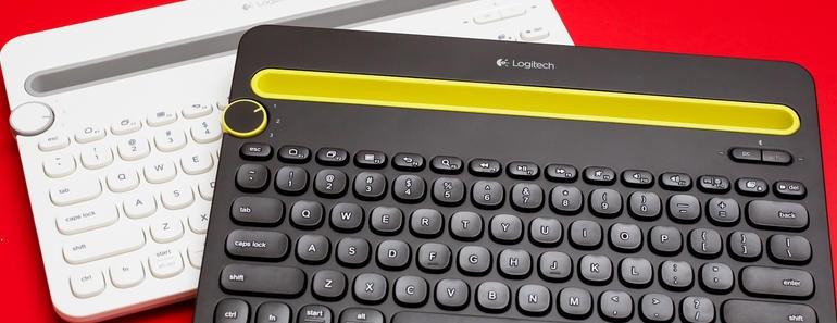 Nuevo Bluetooth K480 teclado Logitech para trabajar con tres dispositivos
