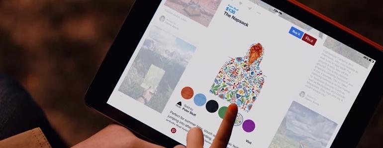 Pinterest mejora con botones para comprar