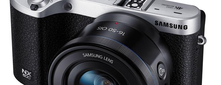Samsung NX500 características de una potente cámara SMART