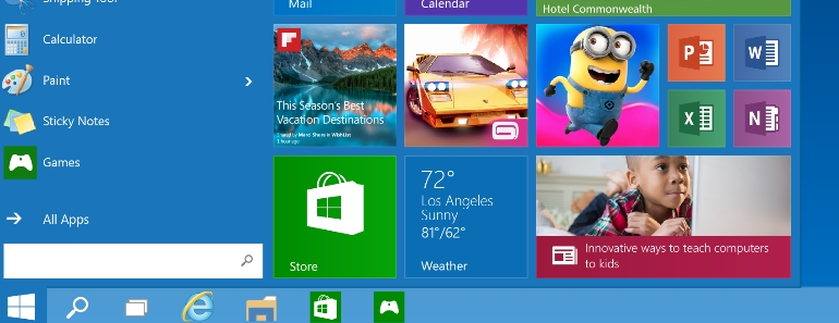 Windows 10 instalo la actualización el 29 de julio