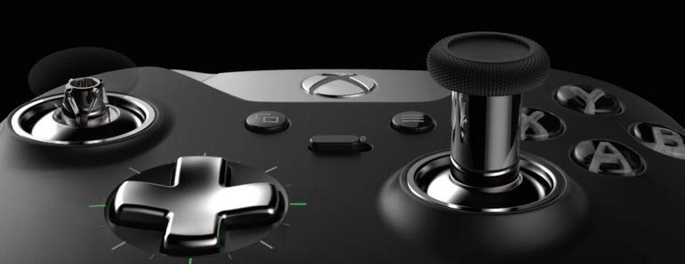Xbox Elite mando con botones totalmente reemplazables
