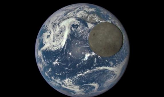 luna tierra nasa